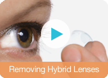 Removing Hybrid Lenses