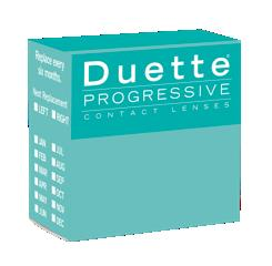 Duette Progressive for astigmatic presbyopes