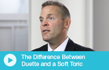 Difference Between Duette and a Soft Toric