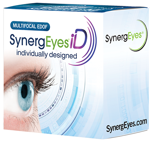 SynergEyes® launches the next generation of hybrid contact lenses: SynergEyes iD