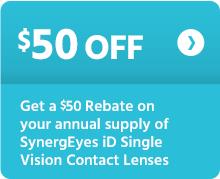 $50 off SynergEyes iD
