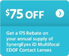 $75 off SynergEyes iD EDOF